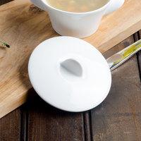 Villeroy & Boch 16-3275-2525 Marchesi White Porcelain Soup Cup Lid - 12/Case
