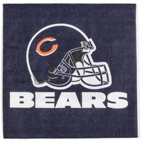 Creative Converting 669506 Chicago Bears 2-Ply Luncheon Napkin - 192/Case