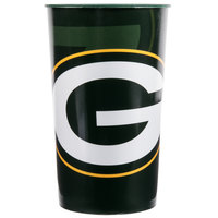 Creative Converting 119512 Green Bay Packers 22 oz. Plastic Souvenir Cup - 20/Case