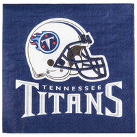 Creative Converting 669531 Tennessee Titans 2-Ply Luncheon Napkin - 192/Case