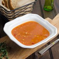 Villeroy & Boch 16-3318-3330 La Scala 15 oz. White Porcelain Square Salad Bowl - 6/Case