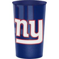 Creative Converting 119521 New York Giants 22 oz. Plastic Souvenir Cup - 20/Case