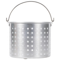 20 Qt. Aluminum Stock Pot Steamer Basket