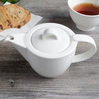 Villeroy & Boch 16-2016-0530 Corpo 13.5 oz. White Porcelain Teapot - 6/Case