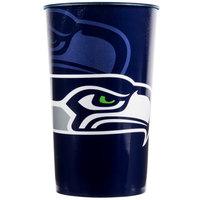 Creative Converting 119528 Seattle Seahawks 22 oz. Plastic Souvenir Cup - 20/Case