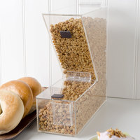Choice Stackable Candy / Topping Dispenser with Scoop Holster - 11 inch x 4 inch x 11 inch