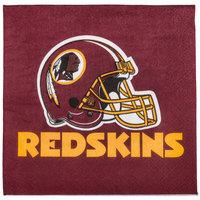 Creative Converting 335916 Washington Redskins 2-Ply Luncheon Napkin - 192/Case