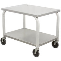 DoughXpress DXC-3 Mobile Cart - 21 1/4 inch x 30 inch x 25 inch