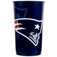 Creative Converting 119519 New England Patriots 22 oz. Plastic Souvenir Cup   - 20/Case