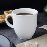 Villeroy & Boch 16-2016-4870 Corpo 10.25 oz. White Porcelain Mug with Handle - 6/Case