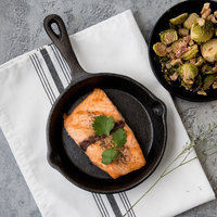 Choice 6 1/2 inch Pre-Seasoned Cast Iron Skillet with Handle