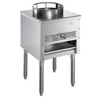 Cooking Performance Group WOK13-LP 13 inch Liquid Propane Wok Range - 95,000 BTU