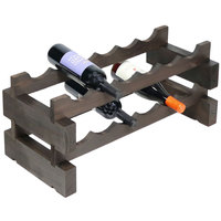Franmara 4530DSET Mudularack Basic 12 Bottle Stained Wooden Modular Wine Rack