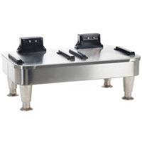 Bunn 27875.0200 Infusion Series Stainless Steel Soft Heat Double Server Docking Stand - 120V