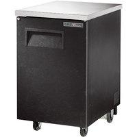 True TBB-1-HC 24 inch Solid Door Back Bar Refrigerator