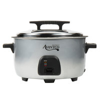 Avantco RC3060 60 Cup (30 Cup Raw) Electric Rice Cooker / Warmer - 120V, 1750W