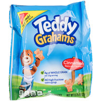 Nabisco Teddy Grahams .75 oz. Cinnamon Flavored Snack Pack - 150/Case