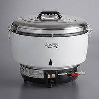 Avantco GRCLP Liquid Propane 110 Cup (55 Cup Raw) Gas Rice Cooker - 22,000 BTU