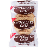 Nabisco 2 Count (.75 oz.) Homestyle Chocolate Chip Cookies Snack Pack - 100/Case