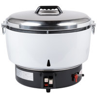Avantco GRCNAT Natural Gas 110 Cup (55 Cup Raw) Gas Rice Cooker - 14,000 BTU