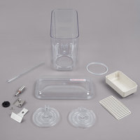 Crathco 5121 Single 5 Gallon Refrigerated Beverage Dispenser Bowl and Drip Tray Assembly Kit