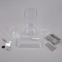 Crathco 5111 Single 5 Gallon Refrigerated Beverage Dispenser Bowl and Drip Tray Assembly Kit
