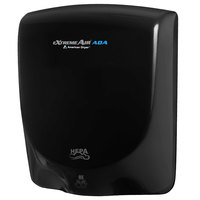 American Dryer AXT-DB Extreme Air ADA Automatic Hand Dryer with Black Aluminum Cover - 100-240V, 950W