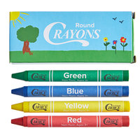 Choice 4 Pack Kids Restaurant Crayons in Print Box - 1000/Case