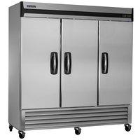 Master-Bilt MBF72-S 78 inch Solid Door Reach-In Freezer