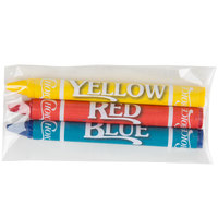 Choice 3 Pack Kids' Restaurant Crayons   - 1000/Case