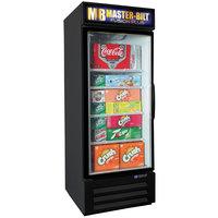 Master-Bilt MBGRP23-HG-B Fusion Plus 27 inch Black Glass Door Refrigerated Merchandiser