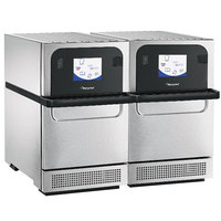 Merrychef eikon e2s Classic Twin High-Speed Accelerated Cooking Countertop Oven - 208/240V