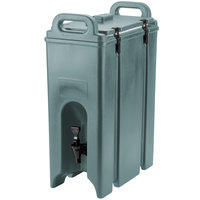 Cambro 500LCD401 Camtainer 4.75 Gallon Slate Blue Insulated Beverage Dispenser
