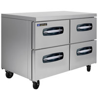 Master-Bilt MBUR48A-001 48 inch Fusion Undercounter Refrigerator with 4 Drawers