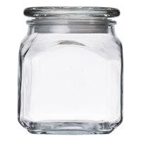 Anchor Hocking 85976 20 oz. Glass Emma Jar with Glass Lid