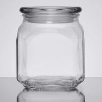 Anchor Hocking 85976 Emma 20 oz. Glass Jar with Lid - 3/Case