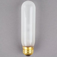 Satco S3253 40 Watt Frosted Shatterproof Finish Incandescent Rough Service Light Bulb (T10)