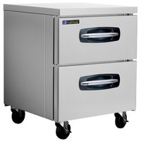Master-Bilt MBUR27A-001 28 inch Fusion Undercounter Refrigerator with 2 Drawers