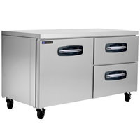 Master-Bilt MBUR60A-002 60 inch Fusion Undercounter Refrigerator with 1 Left Door and 2 Right Drawers