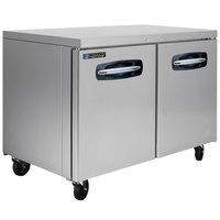 Master-Bilt MBUR48A-015 48 inch Fusion Undercounter Refrigerator with Door Locks