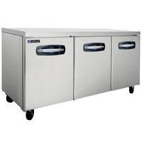Master-Bilt MBUR72A 72 inch Fusion Undercounter Refrigerator