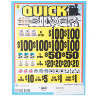Quick Silver 5 Window Pull Tab Tickets - 1440 Tickets Per Deal - Total Payout: $1080