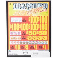 Diamond Mine 5 Window Pull Tab Tickets - 1440 Tickets Per Deal - Total Payout: $1080