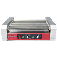 Grand Slam HDRG18 18 Hot Dog Roller Grill with 7 Rollers - 110V, 1200W