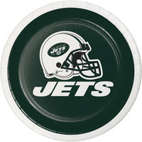 Creative Converting 419522 New York Jets 7 inch Luncheon Paper Plate - 96/Case
