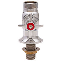 Fisher 51012 Single Deck Mount Faucet Base with 3/4 inch Control Valve and Cross Handle