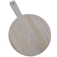 American Metalcraft TWP11 11 1/2 inch Teak Wood Round Serving Peel