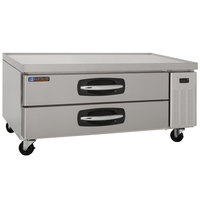 Master-Bilt MBCB53 Fusion 53 inch 2 Drawer Refrigerated Chef Base