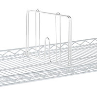 Metro HD24W White Drop Mat Snap-On Divider - 24 inch Wide