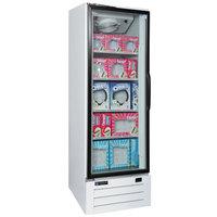 Master-Bilt BLG-23-HGP 27 inch White Glass Door Merchandiser Freezer